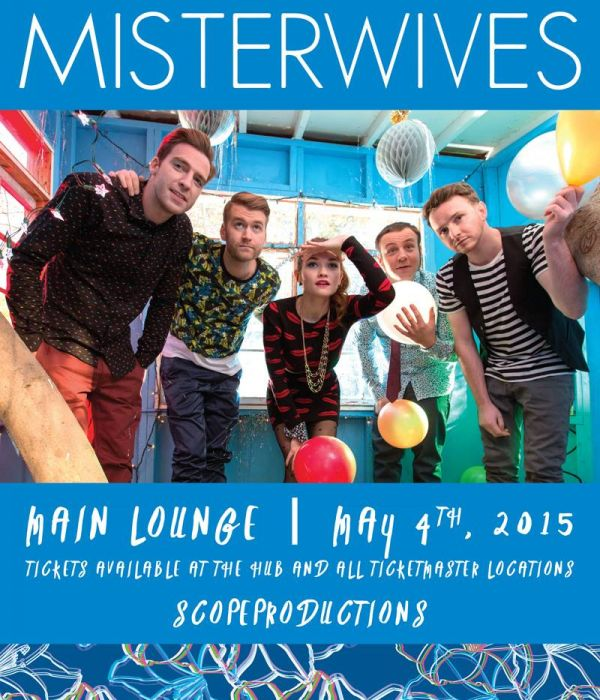 Image for MisterWives w/ The Olympics