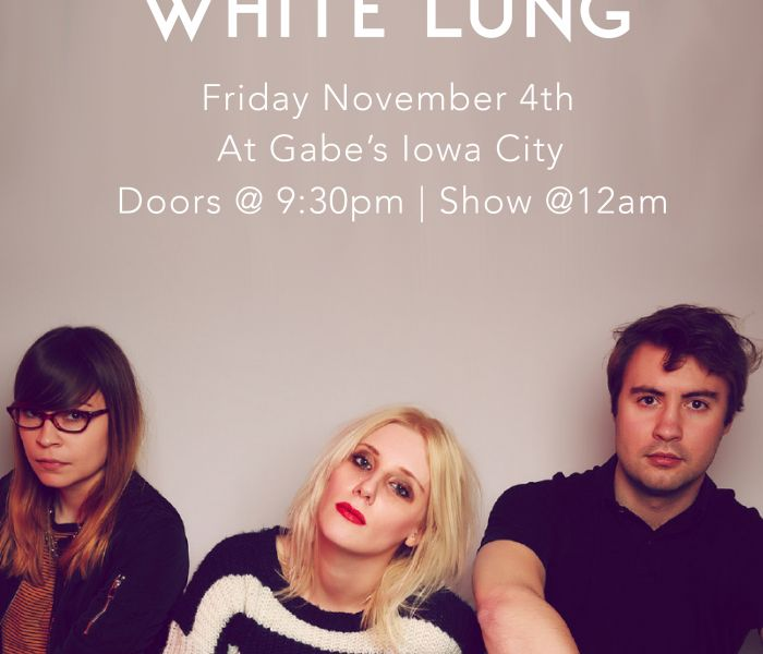 Photo representing Witching Hour 2016: White Lung