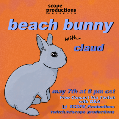 Beach Bunny with Claud