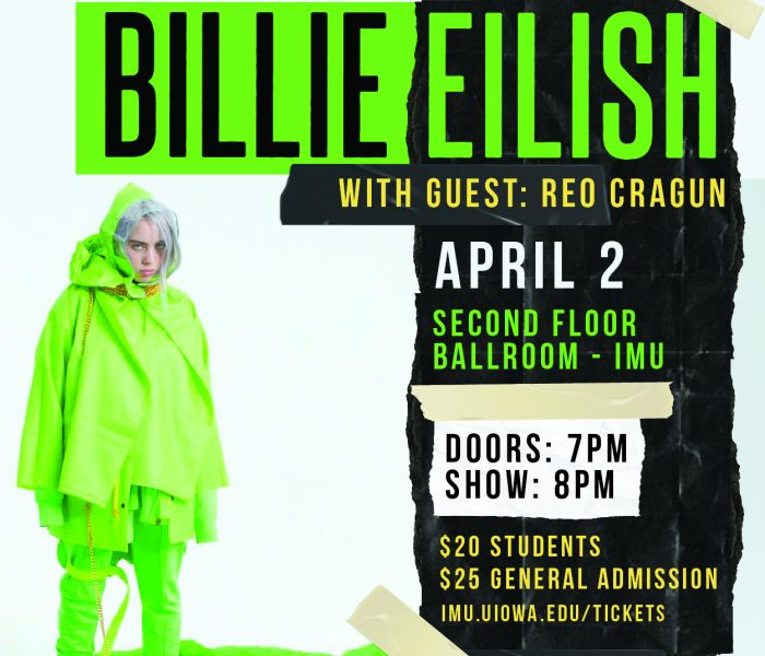 Photo representing Billie Eilish w/ Reo Cragun