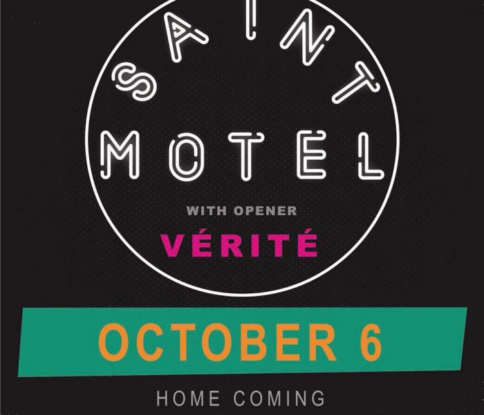 Photo representing Saint Motel w/ VÉRITÉ